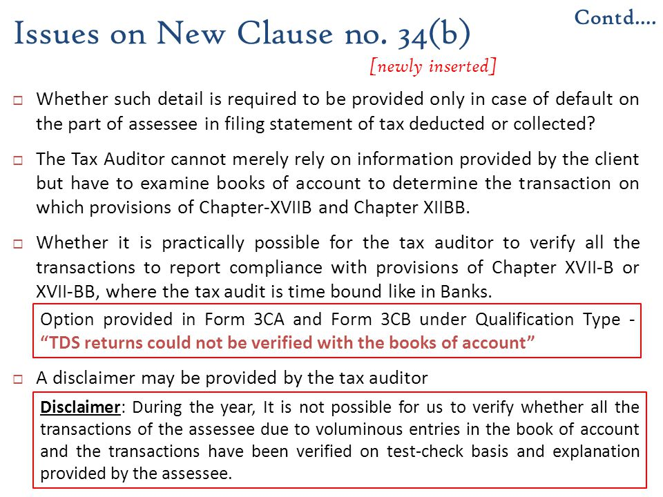 Issues on New Clause no. 34(b) [newly inserted]